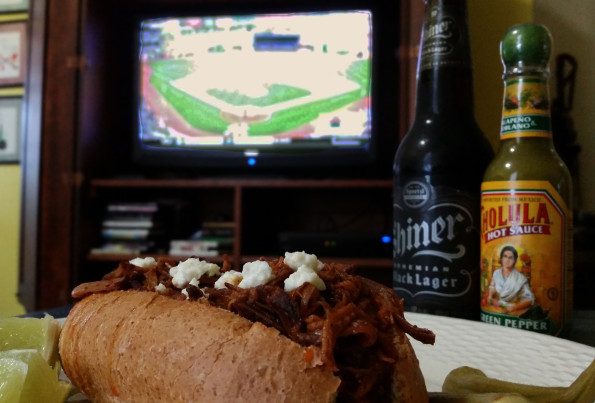 A Literary Feast -- Baseball and Pulled Pork Sandwiches