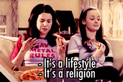 A Literary Feast -- Gilmore Girls lifestyle