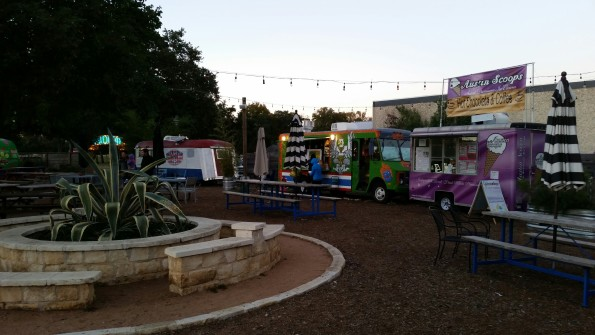 A Literary Feast -- food trailers