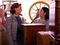 A Literary Feast -- Emily Gilmore and Mrs. Kim