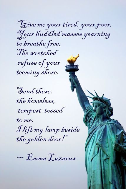 A Literary Feast -- Statue of Liberty
