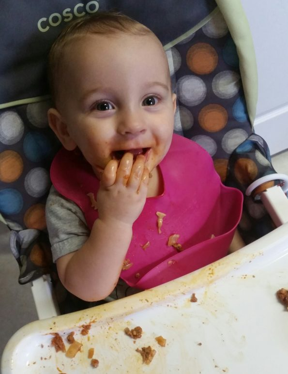 A Literary Feast -- baby pasta