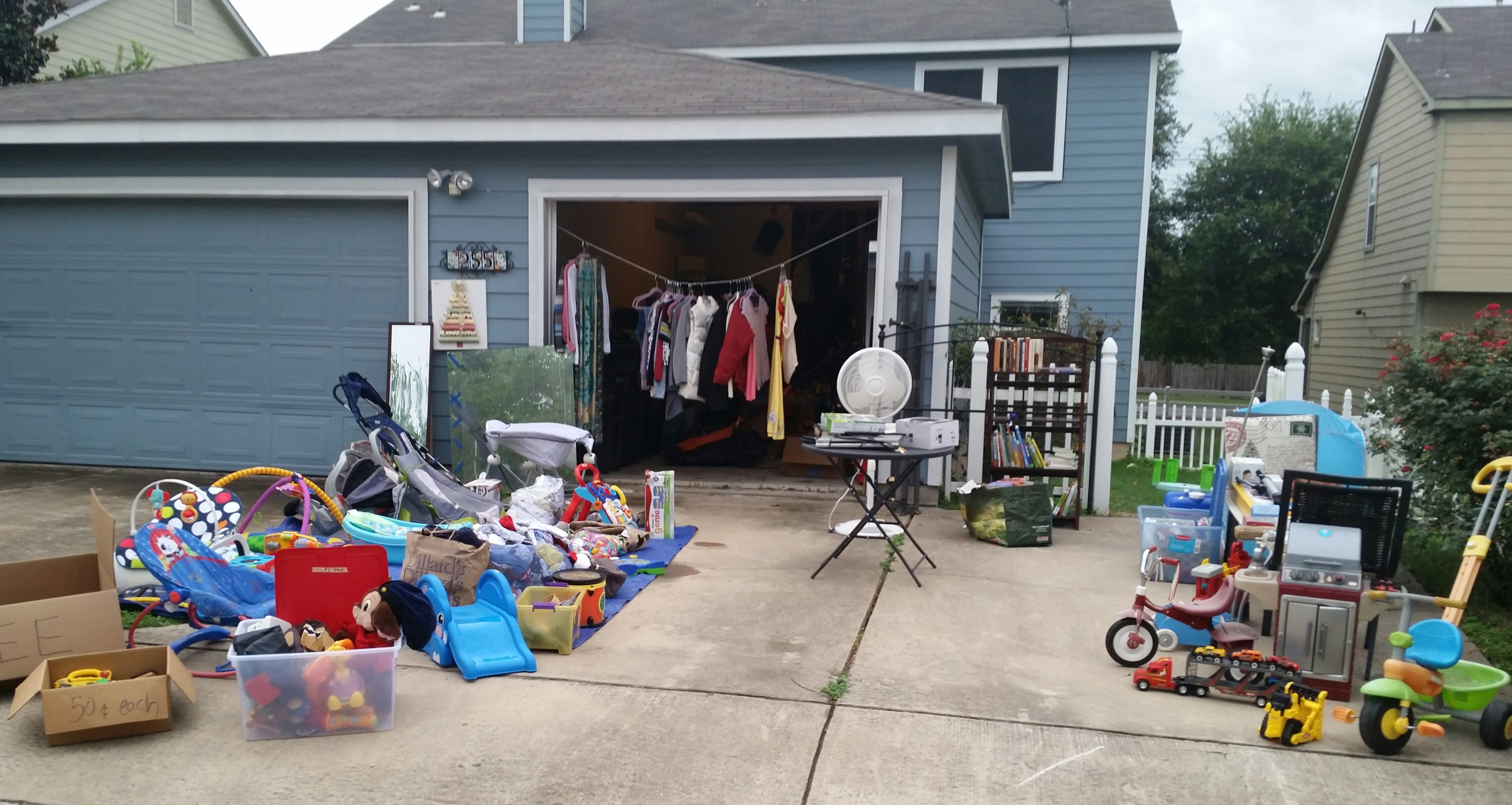 How to Yard Sale in 13 Chaotic Steps