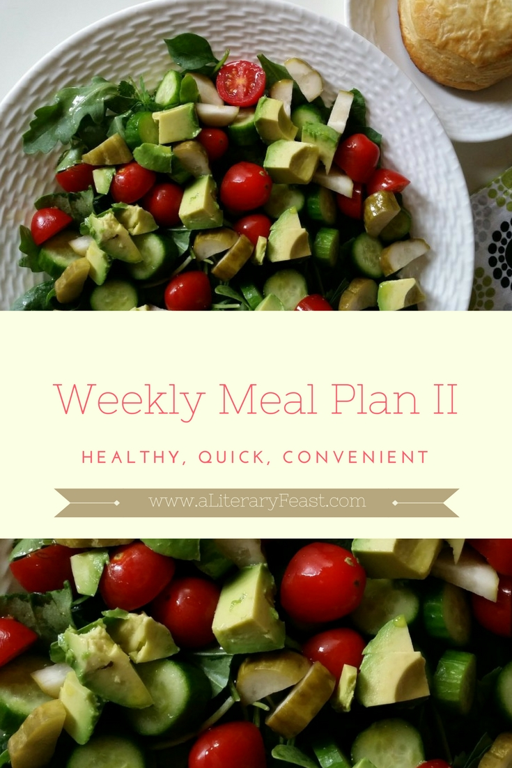 Weekly Meal Plan II