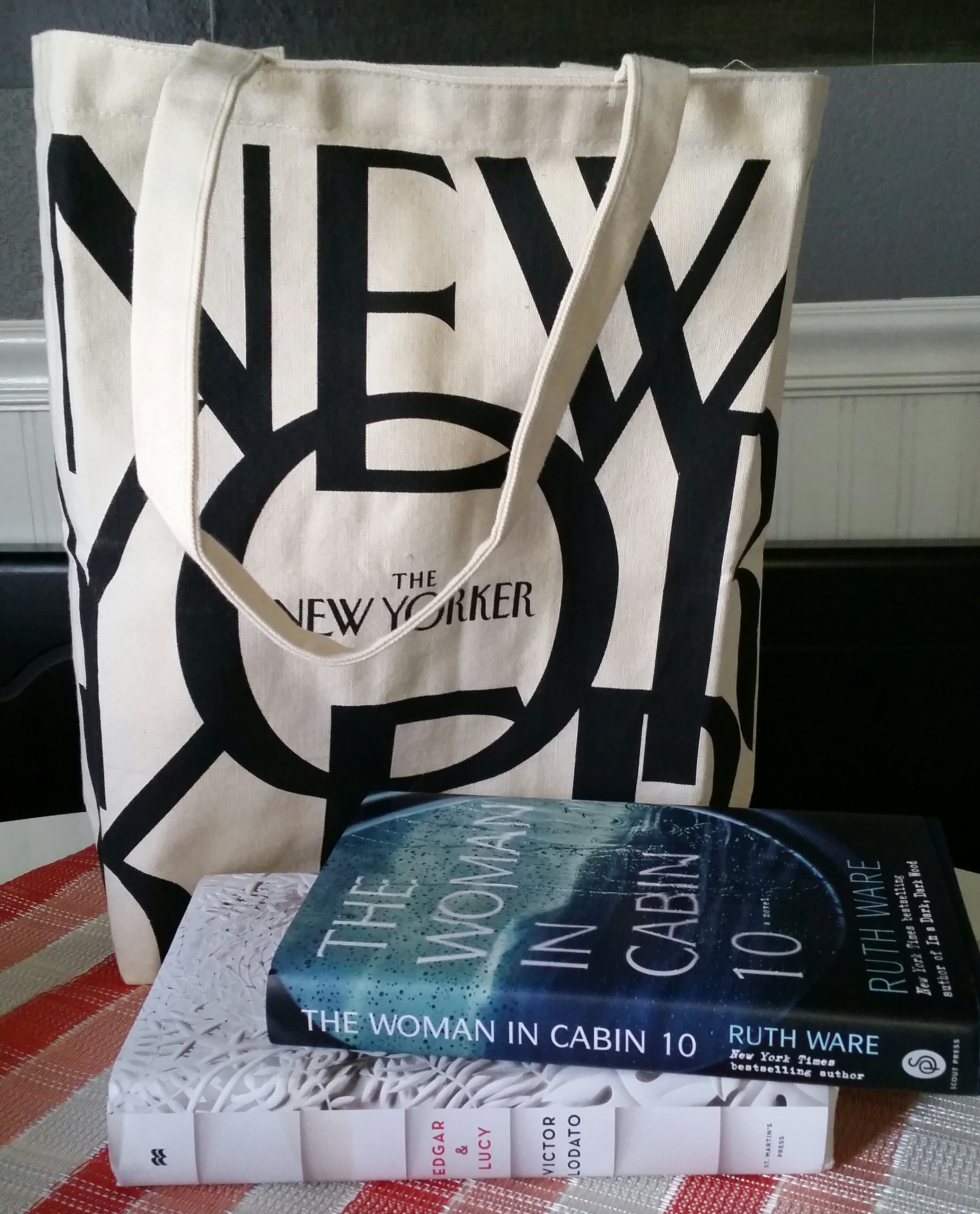 Free books, book contest, book giveaway, Edgar and Lucy, The Women in Cabin 10, The New Yorker