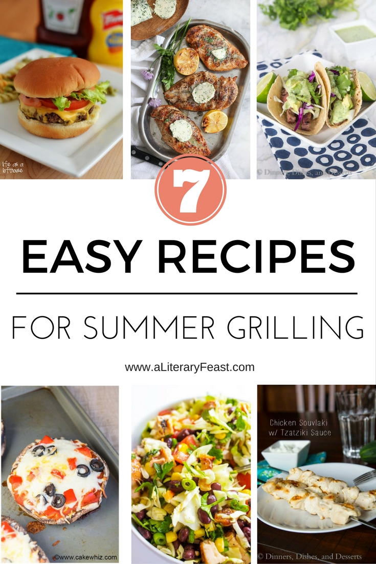 Weekly Meal Plan VI — Summer is for Grilling