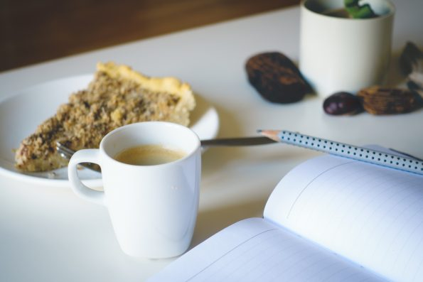 A Literary Feast | If you Give a Blogger a Cup of Coffee | Mom Bloggers | Work from Home | Coffee Break