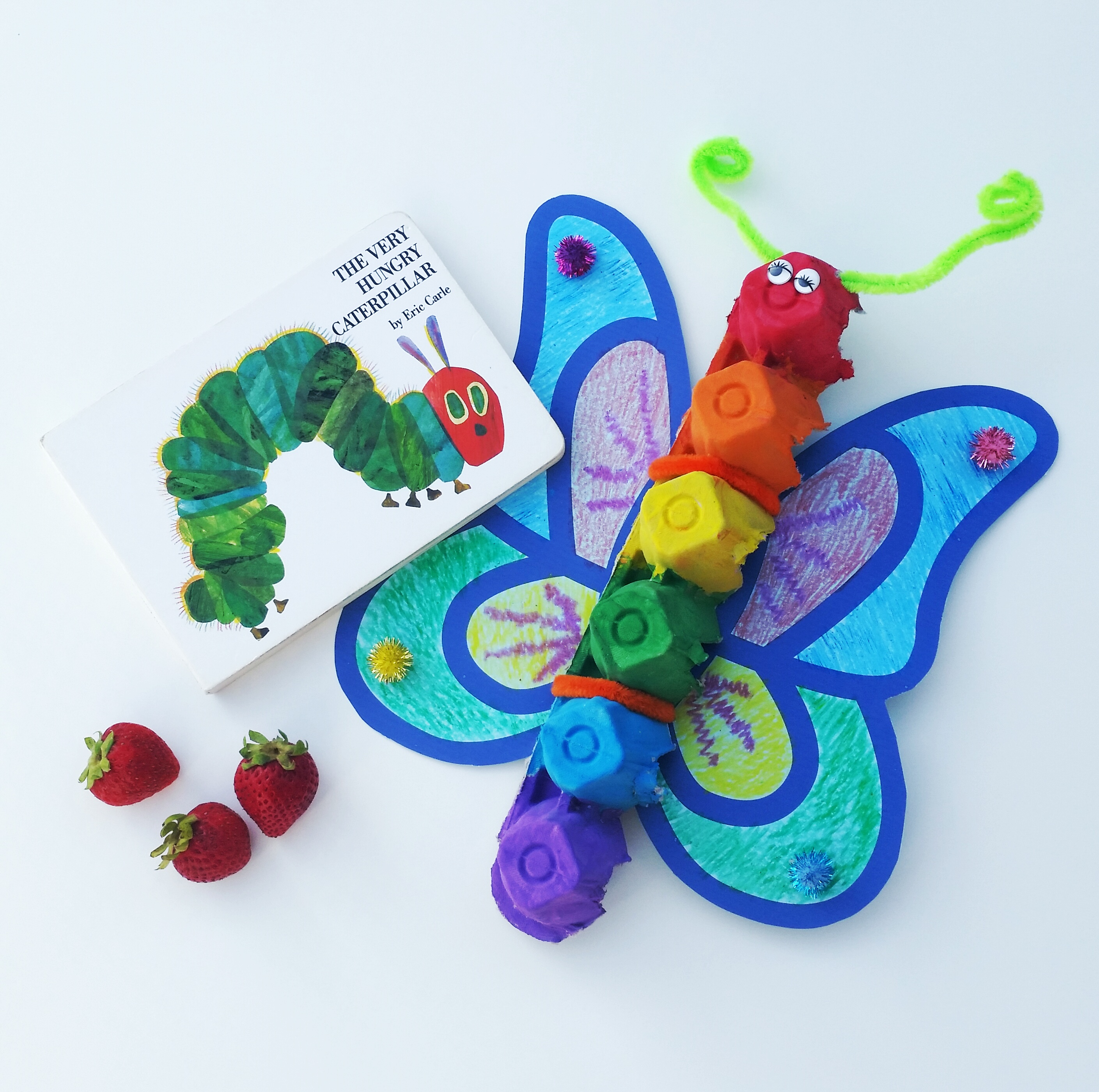The Very Hungry Caterpillar — Craft and Recipe