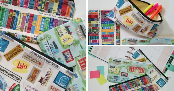 A Literary Feast   Gilmore Girls   pouches   storage   planners   giveaway   discount coupon   enter to win