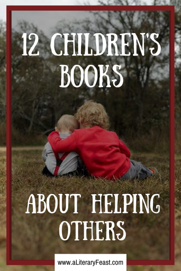 A Literary Feast | Children's Books About Helping Others | How to Help Houston after Hurricane Harvey in Texas