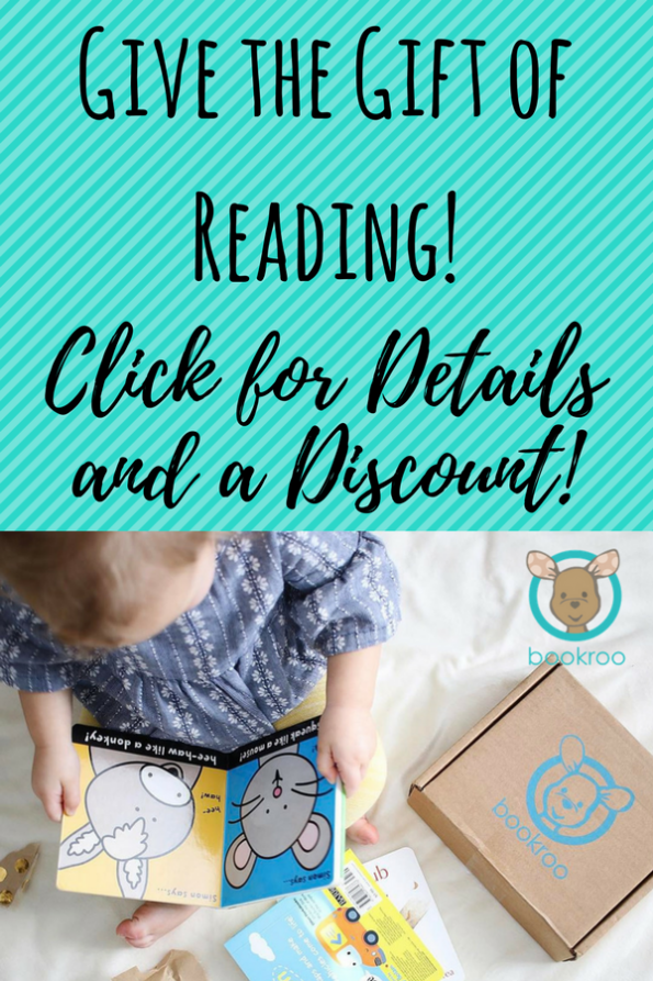 A Literary Feast   Bookroo book subscription box   discount coupon   children's books   raising readers   non toy gifts