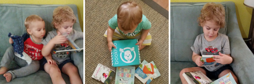A Literary Feast | Bookroo book subscription box | discount coupon | children's books | raising readers | non toy gifts