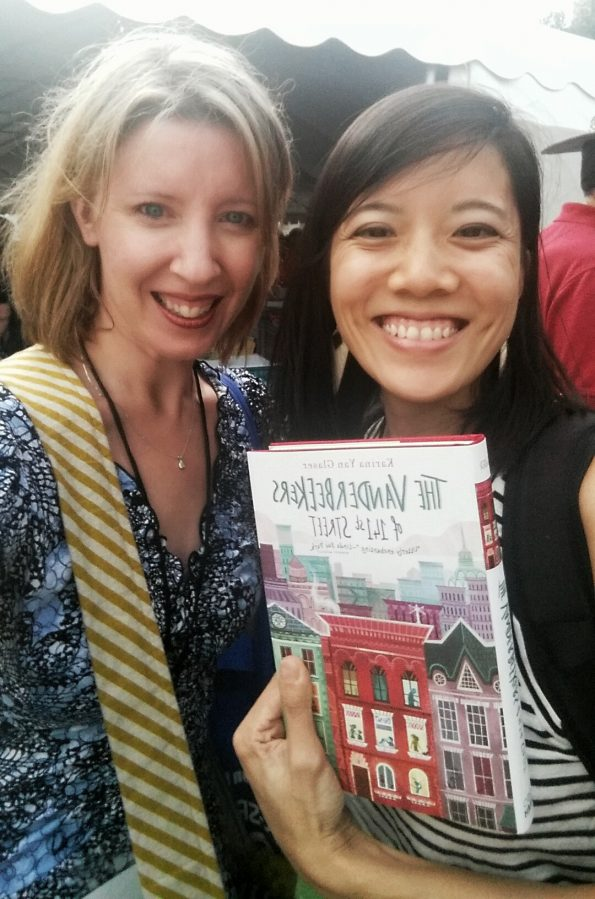 A Literary Feast   Book Review   The Vanderbeekers of 141st Street   jam thumbprint cookies   author interview   Texas Book Festival