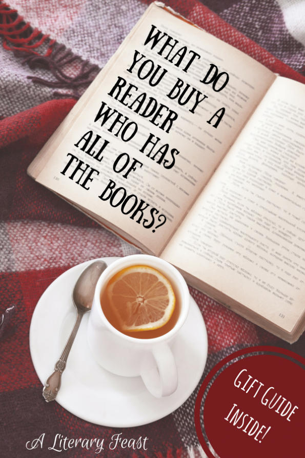 A Literary Feast | The Best Gift Guide for the Reader in Your Life | book gifts | literary gifts | Christmas