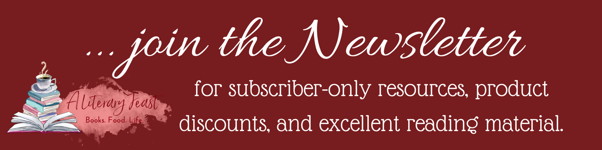 A Literary Feast | Subscribe to the Newsletter