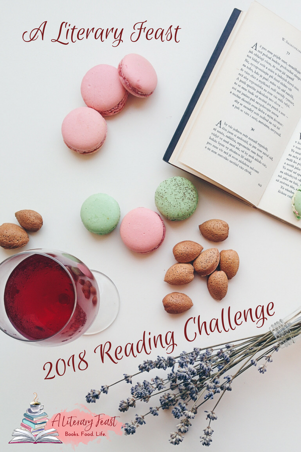 A Literary Feast | 2018 Reading Challenge