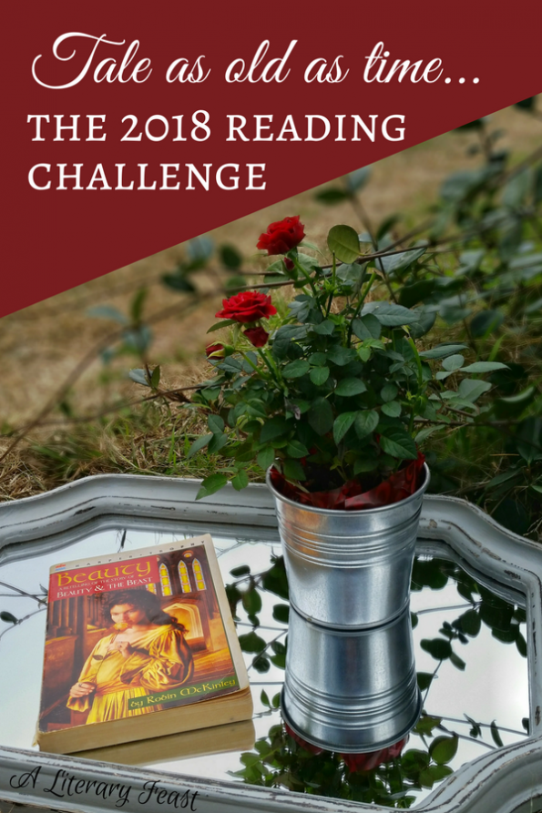 2018 Reading Challenge | A Literary Feast | Beauty by Robin McKinley | a retelling of the story of Beauty and the Beast